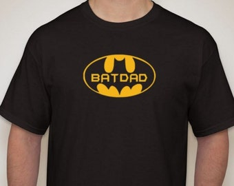 Bat Dad t-shirt Batman inspired t-shirt perfect gift for dad!!