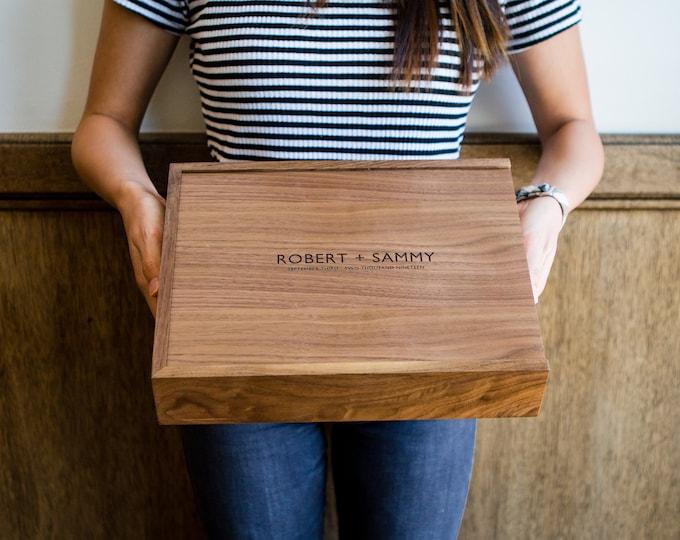 Wood Photo Boxes