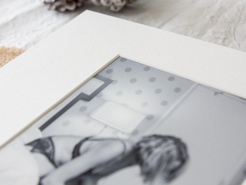 DIY Slip-In Matted Photo Album - Boudoir Photo Album for 5x7