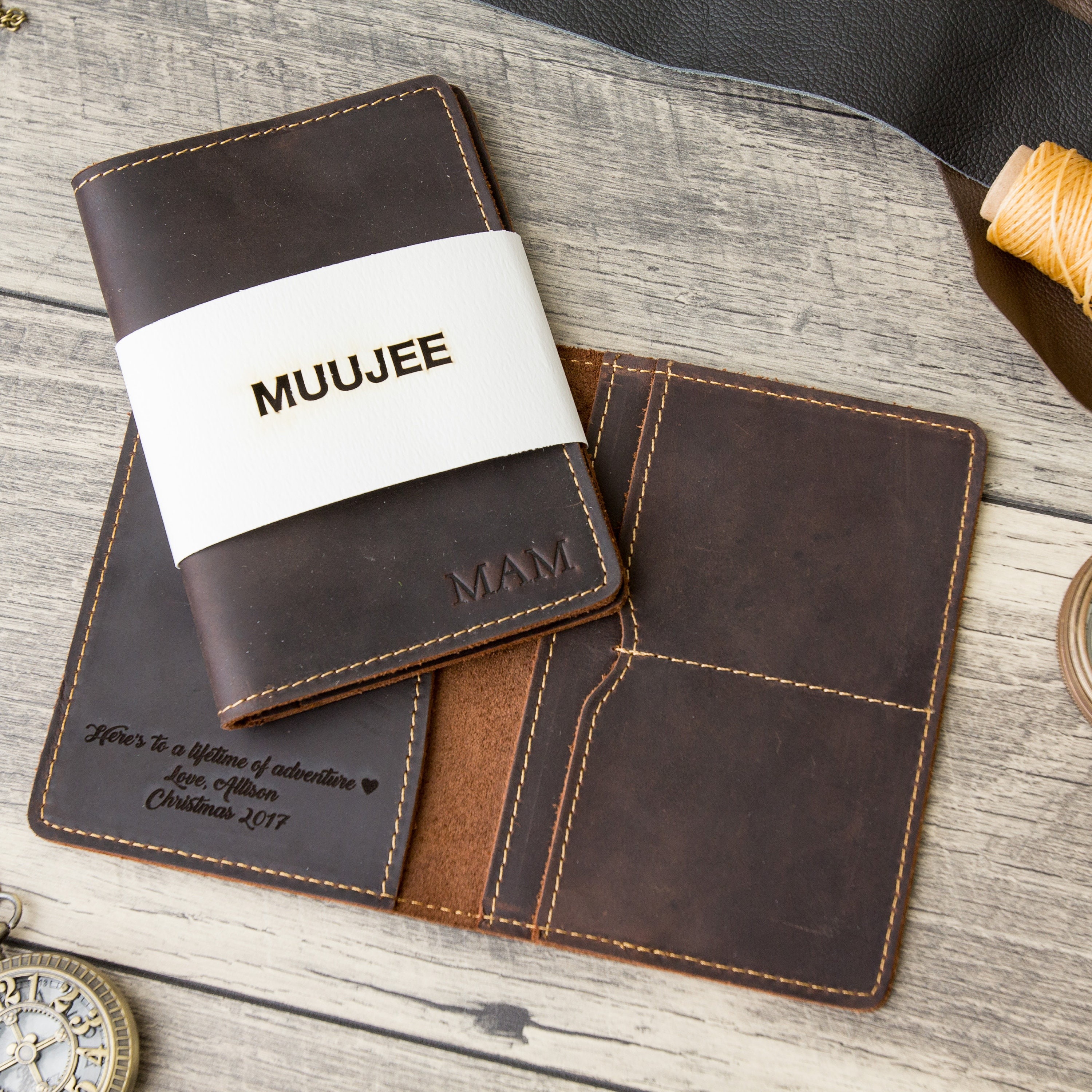 Embossed Passport Holder Personalized Passport Cover 3rd  f87f152998e2