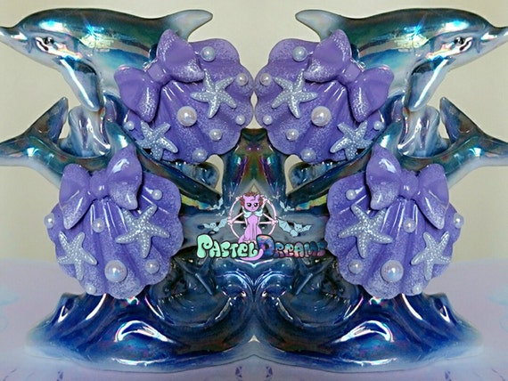 2x Schmetterling Ohrclips Kawaii niedlich Kinder Ohrschmuck süß Lolita