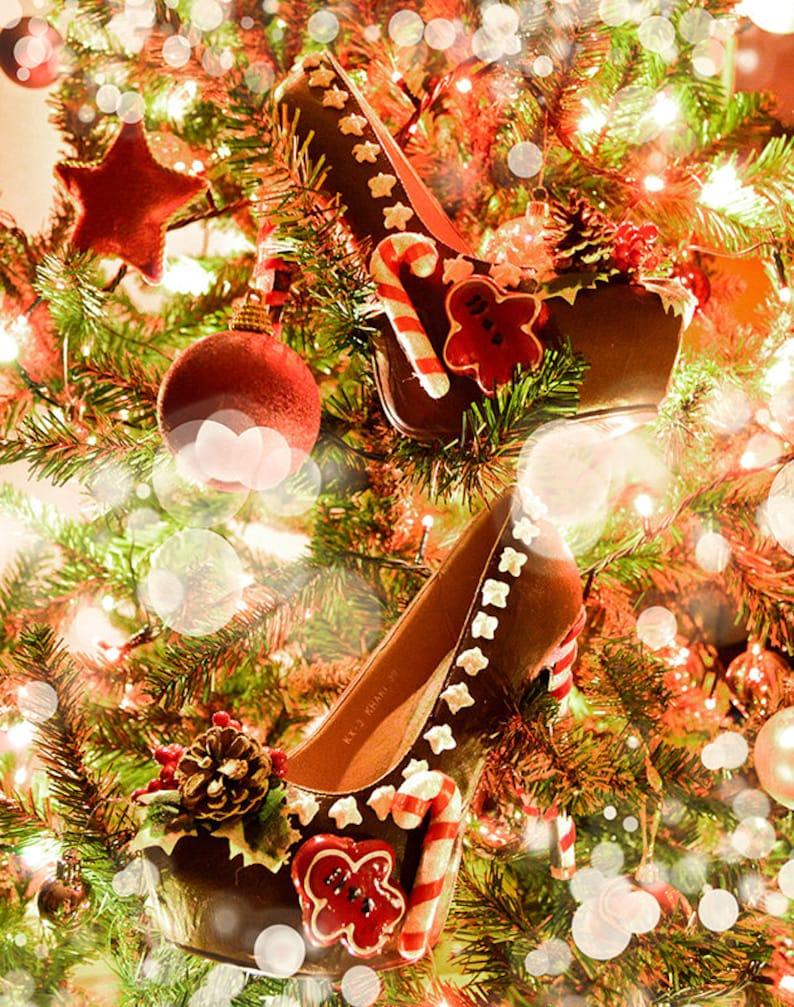 1f4b3798d8358 Gingerbread man cake christmas festive custom made heels shoes one of the  kind, Pastel Goth, Fairy Kei, Kawaii,cute,harajuku, alternative