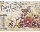 Miss Emma 39 s Choice Flowers Decoupage Tissue Paper - Salvage Scapes