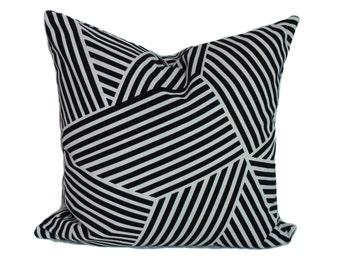 Black pillow cover, Throw pillow, Decorative pillow, Couch pillow, Sofa cushion, Lumbar pillow, Shams, Lumbar pillow, 11 sizes available