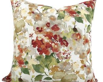 Pillow cover, Throw pillow, Decorative pillow, Couch cushion, Lumbar pillow, Floral pillow, Couch pillow, Sofa pillow, 11 sizes available