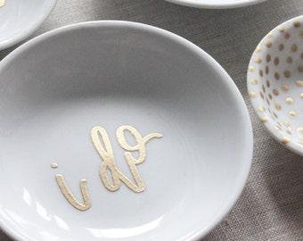 jewelry trinket dish // i do