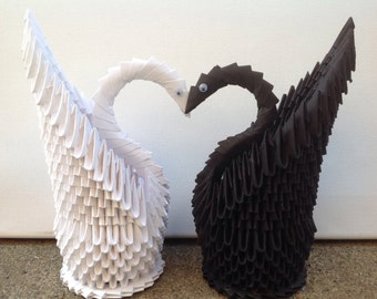 Swan - 3D Origami- Decoration