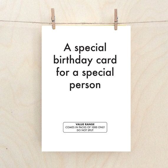 Funny Birthday Card,