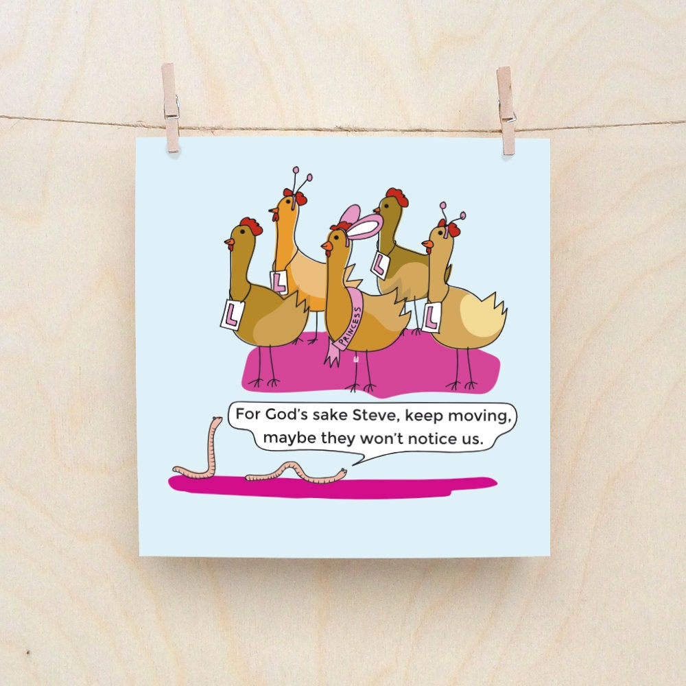 Hen Party Card Funny Greetings Card Funny Good Luck Cards Funny
