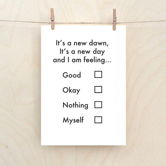 New dawn, new job card, new start card