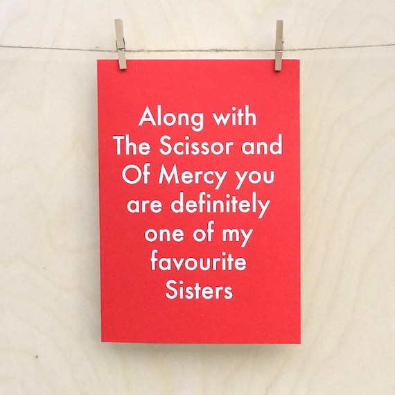 Favourite Sister Card, Funny Sister card, funny Sister birthday card, funny Sister day card ???