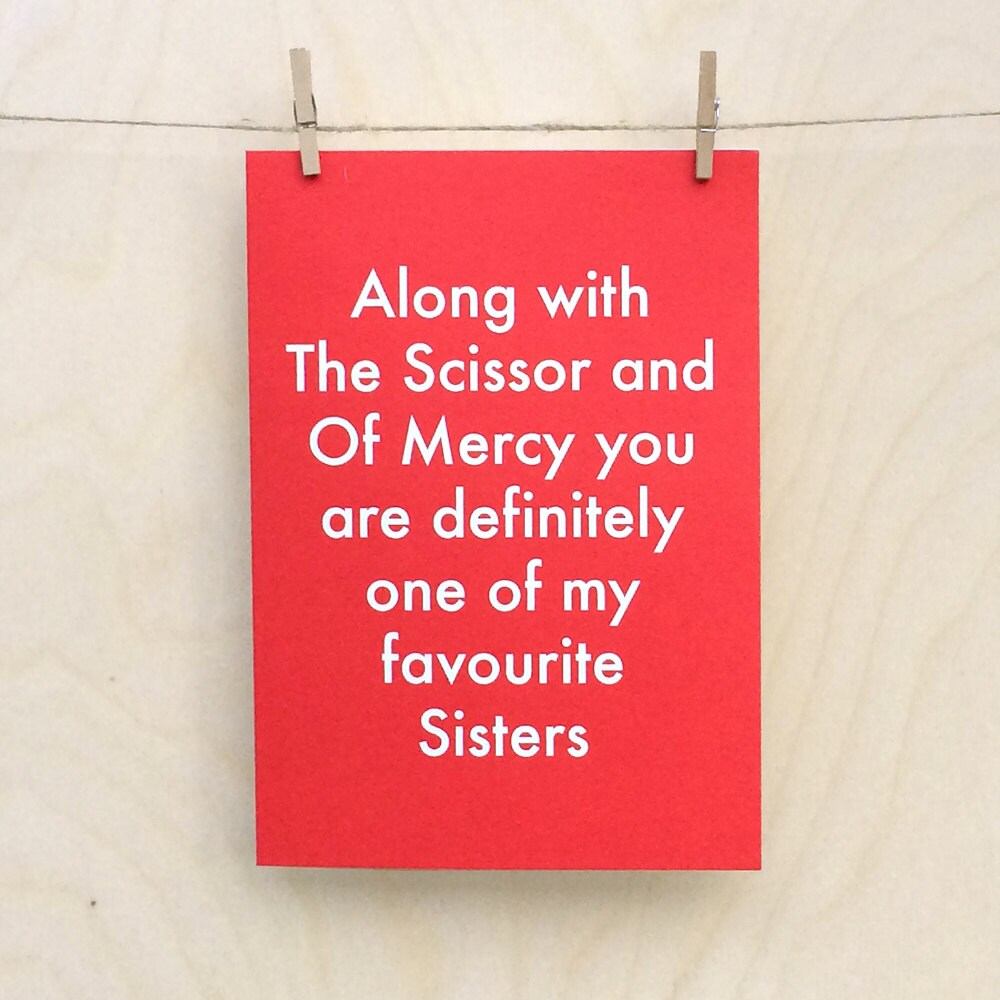 Favourite Sister Card Funny Birthday