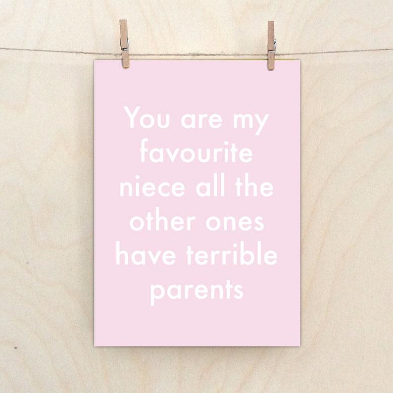 Niece CardFunny Card Funny Birthday