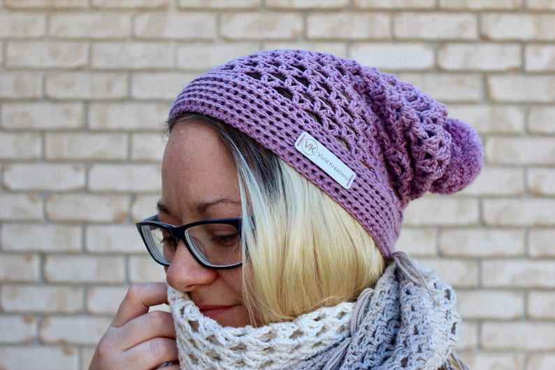 Crochet Pattern. Almost a Granny Slouch Hat. Instant digital image 0