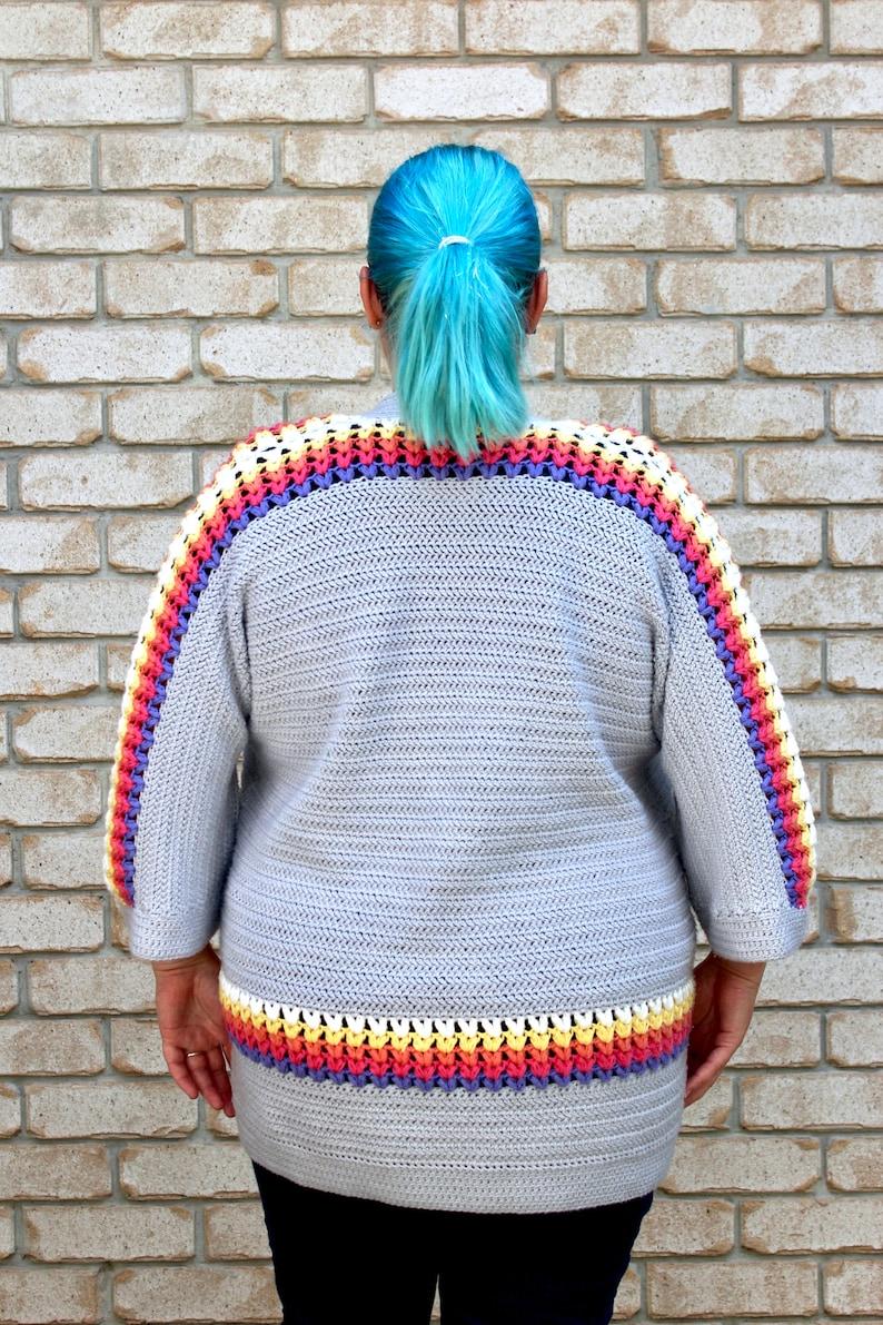Crochet Pattern. Sundae Cardigan. image 0