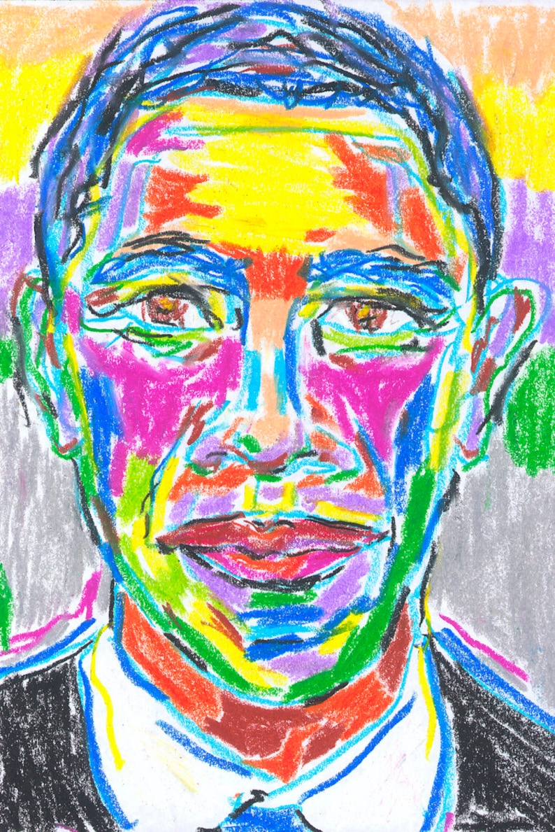 President Obama: Limited Edition 11 x 14 Museum Quality image 0