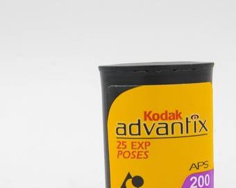 Unused Kodak ADVANTIX Film-- 200 speed, 25 exposures
