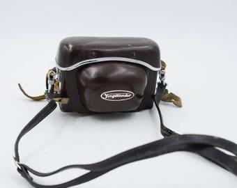 Voigtlander Vitessa In Leather Case, 35mm Viewfinder Camera