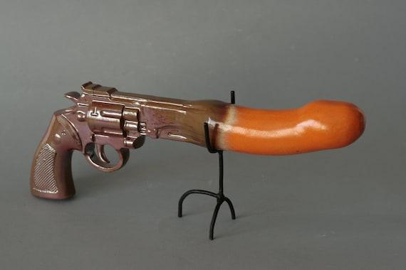 Ceramic dildo gun