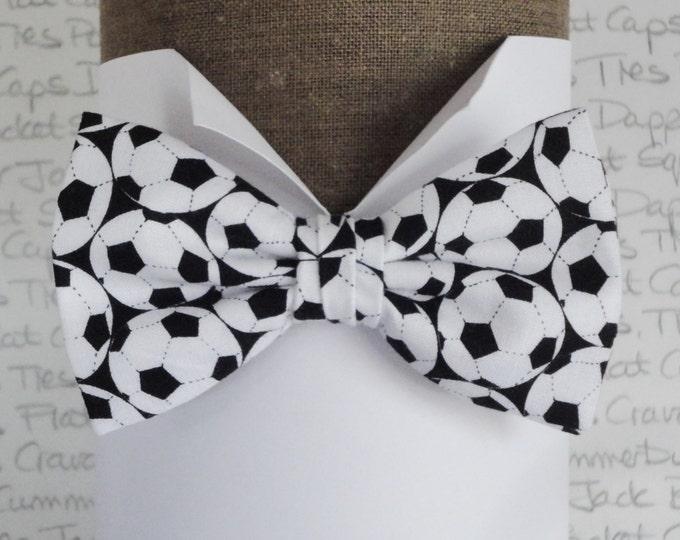 Bow Tie, Mens bow tie, footballs, pre tied or self tie bow tie