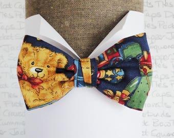 Bow ties for boys, boys bow ties, teddy bear bow tie, pre tied bow tie for boys