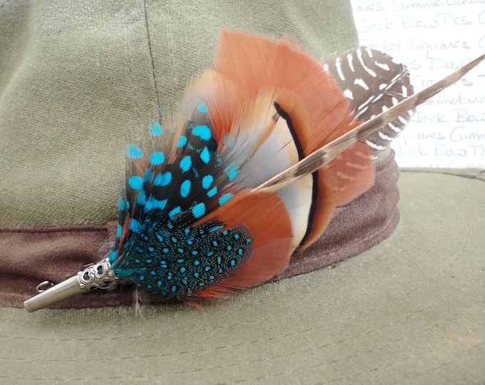 Hat pin, Lapel pin, Feather brooch, Boutonniere