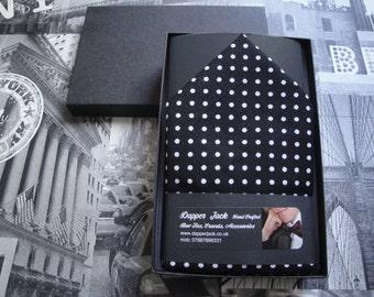 "Pocket square, pocket handkerchief, 12"" by 12"" square"