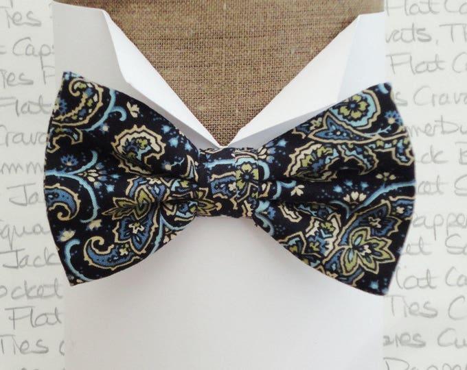 Bow ties for men, Paisley bow tie, Pre tied bow tie, Self tie bow tie