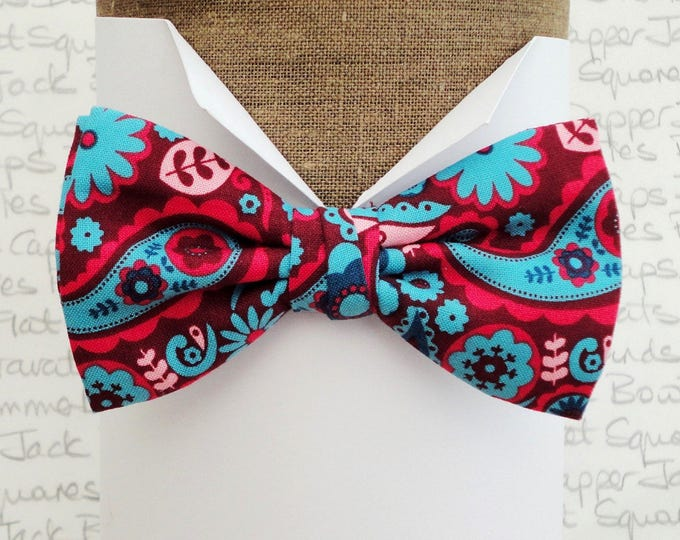 Paisley Bow Tie, Bow Ties for Men