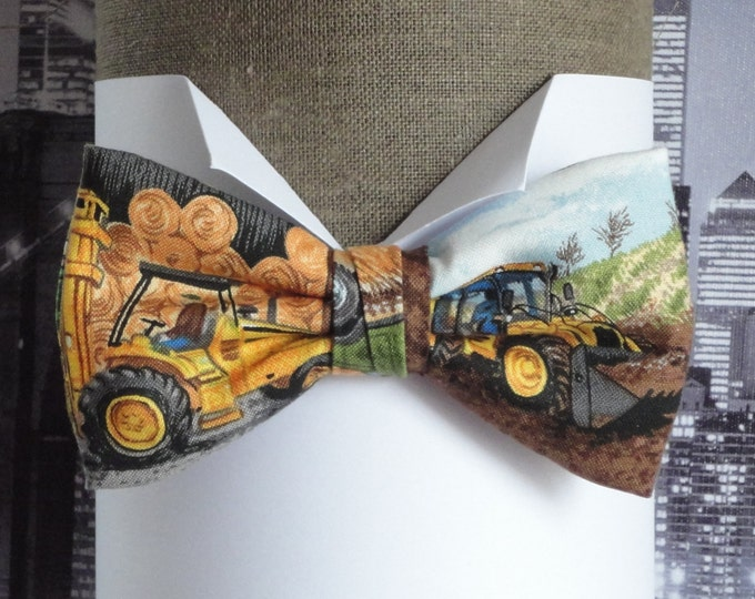 Bow tie, bow ties for men, Digger and Fork Lift bow tie