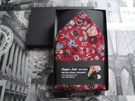"Pocket square, pocket handkerchief, handkerchief, 12"" by 12"" square"