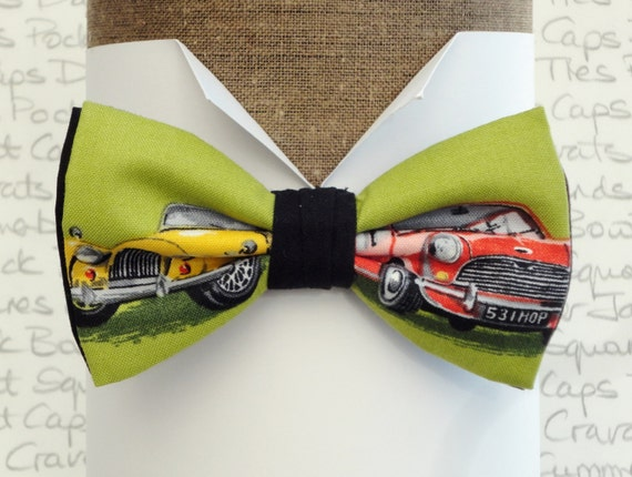 Bow tie, Bow ties for men, Morgan and Mini print bow tie