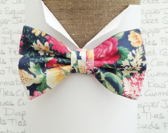 Bow tie. bow ties for men, floral bow tie