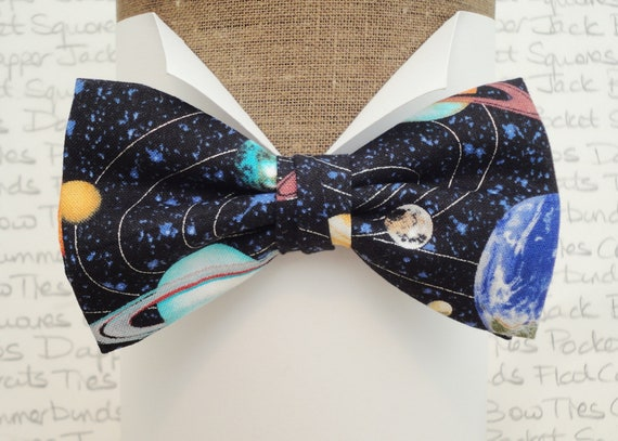 Planets bow tie, commemorate moon landing