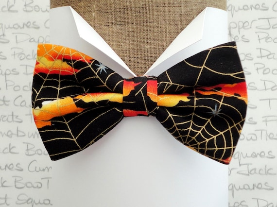 Bow ties for men, Halloween bow tie, pre tied or self tie bow tie, bow ties uk