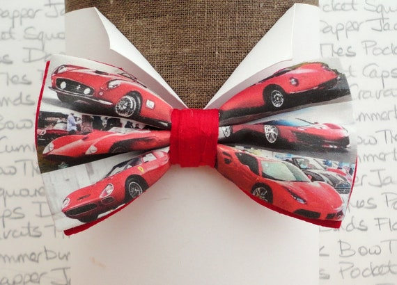Ferrari Bow Tie, Bow Ties For Men, Ferrari Owner Bow Tie