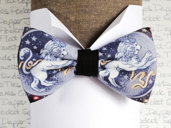 Leo Star Sign Bow Tie, Zodiac Signs, Birth Signs, Birthday Bow Tie