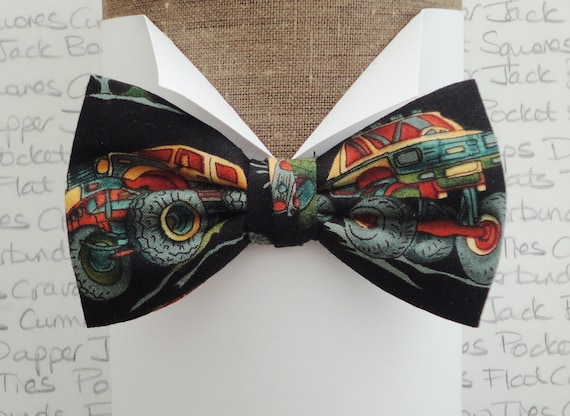 Monster truck bow tie, bow ties for men