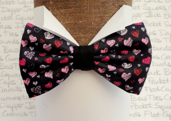 Valentines Bow Tie a Perfect Gift on Valentines Day Delivered in a Gift Box