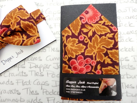 Autumn Colours Pocket Square, Suit Accessory, Gifts For Men, Pocket Square, Christmas Gift, Groom
