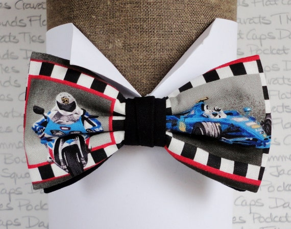 Bow Tie F1 Car and Bike, Bow ties for men, Men's bow ties, Pre tied bow tie