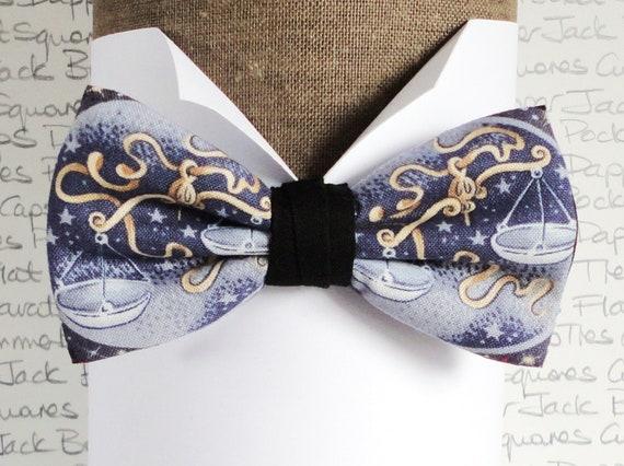 Libra Birthday Bow Tie, Bow Ties For Men, Birthday Gift, Zodiac Signs, Star Signs, Libra