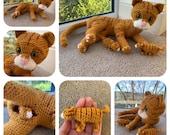 Cat with Kittens Crochet Pattern