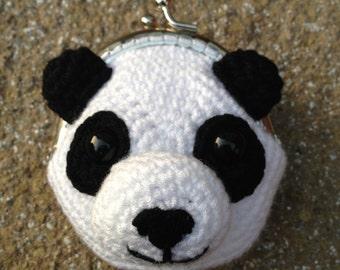 Panda Coin Purse Crochet Pattern