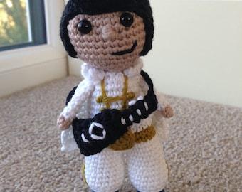 Elvis Amigurumi Crochet Pattern
