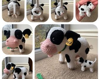 crochet pattern cow