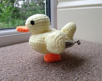 Duck Coin Purse Crochet Pattern