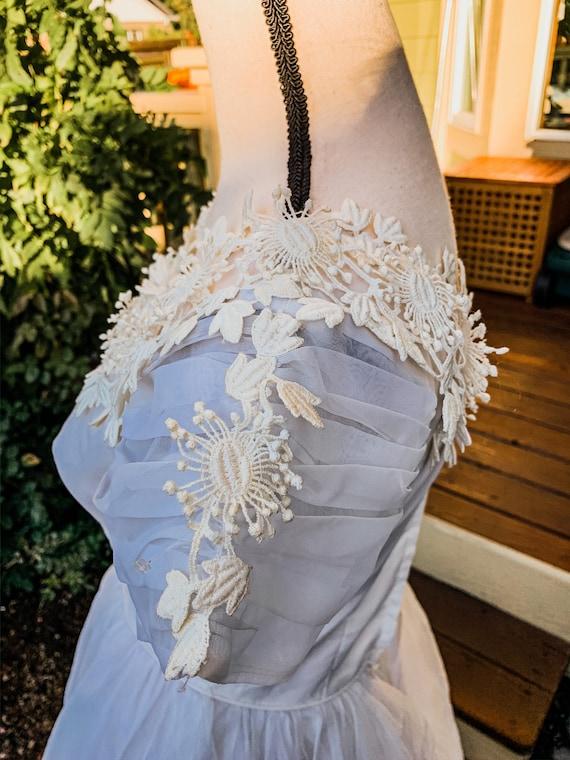 Vintage wedding dress ball gown - image 6