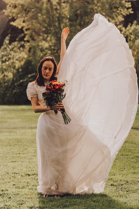 Vintage wedding dress ball gown - image 2