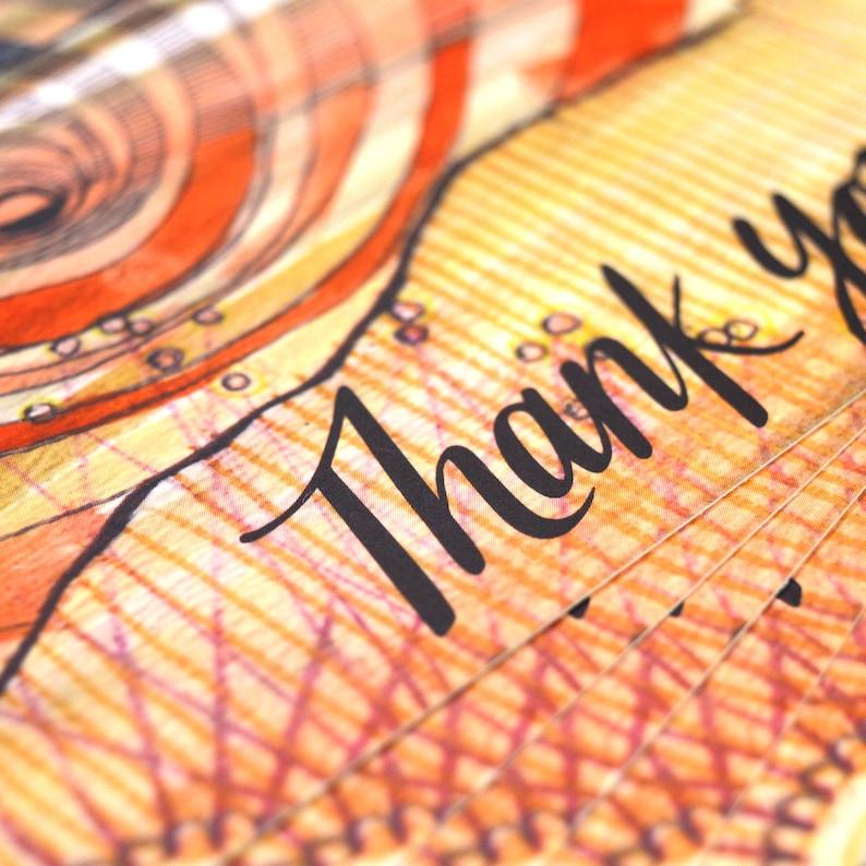 Thank You Post Cards 4x6  Sunrise Sunset image 0